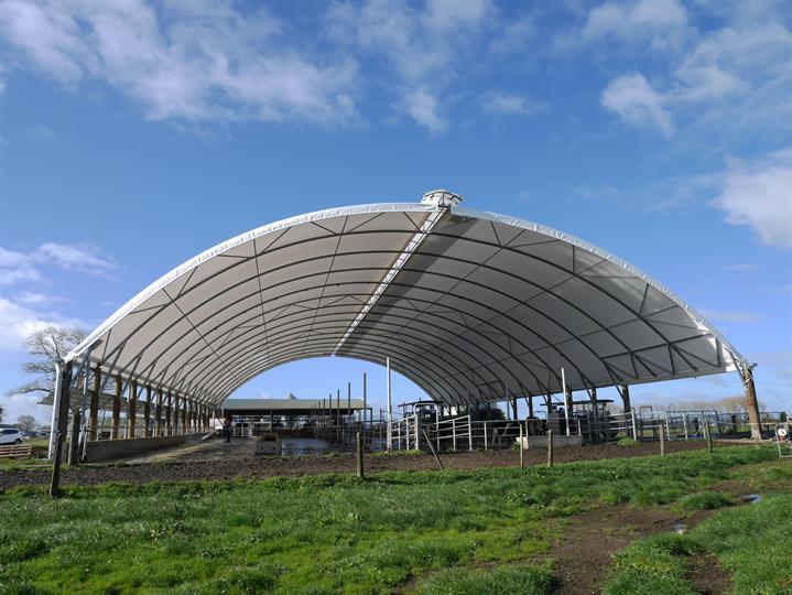 Large Farm Sheds