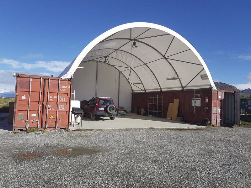 container shelters nz